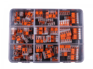 Wago 221 Connector  85 Piece Assortment Kit 0.14-4mm² Cable